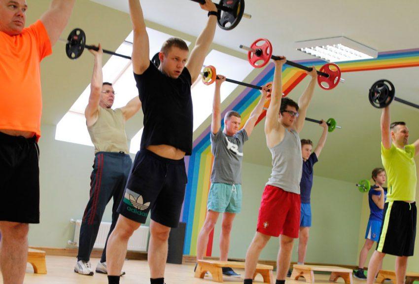 Примерная программа тренировки для начинающих