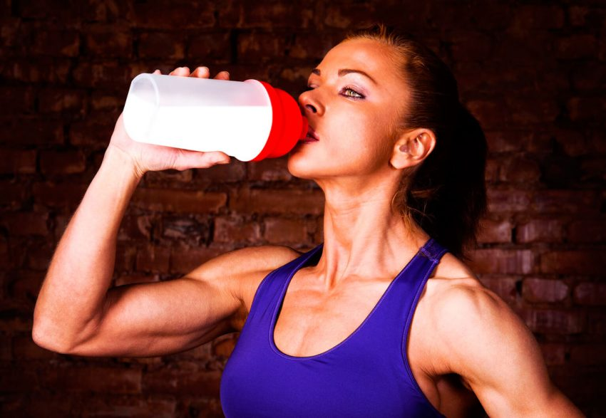 Протеин – не для женщин