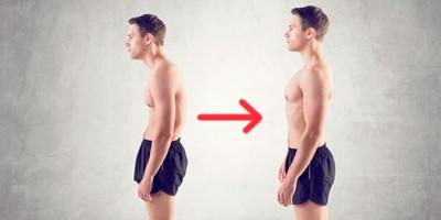 выпрямить сутулые плечи
