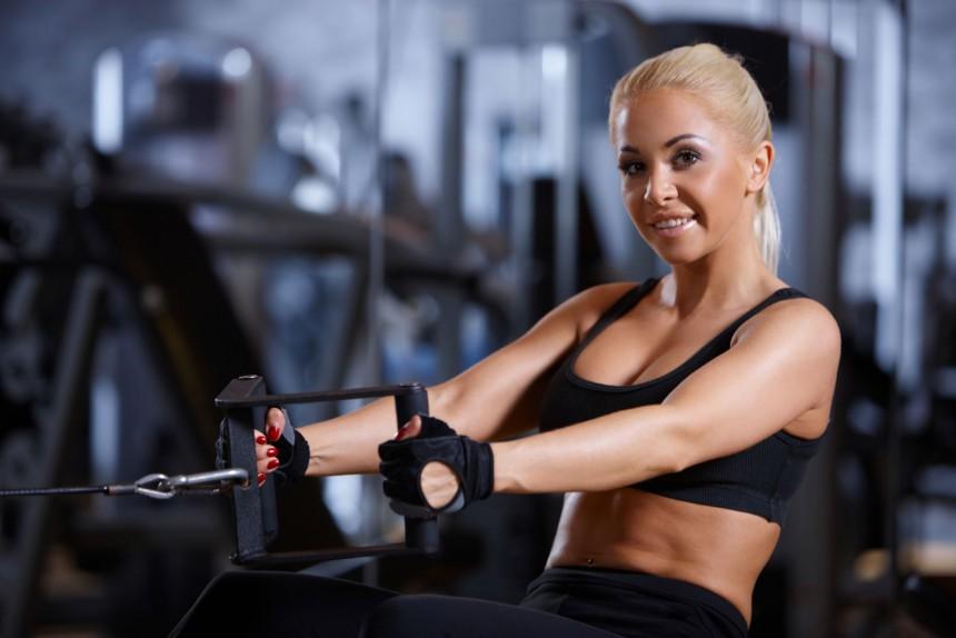 Упражнения для набора мышечной массы в домашних условиях, тренажерном зале для девушки. Программа тренировок, как выполнять, количество подходов