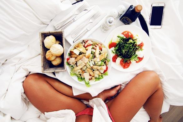 Как убрать жир с живота при помощи питания