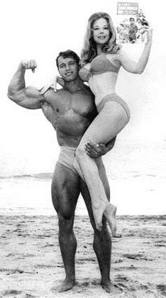 Арнольд и девушка