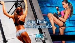 Athlete Ana Delia
