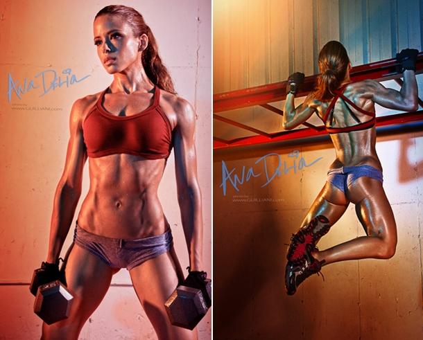 Athlete Ana Delia