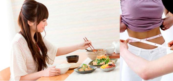 Первый вариант японской диеты