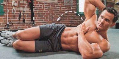 Упражнения для боковых мышц пресса
