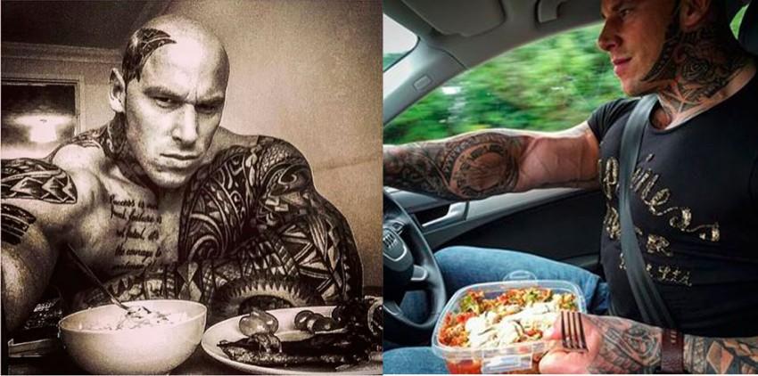 Martyn Ford диета