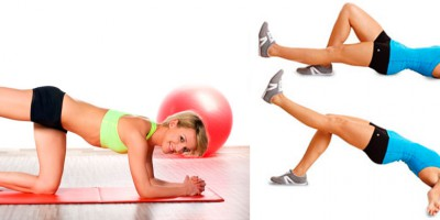 Упражнения для ягодиц в домашних условиях