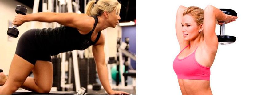 упражнения на трицепс для женщин