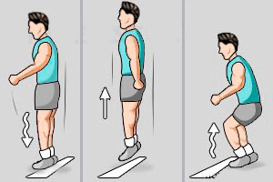 прыжок мышцы