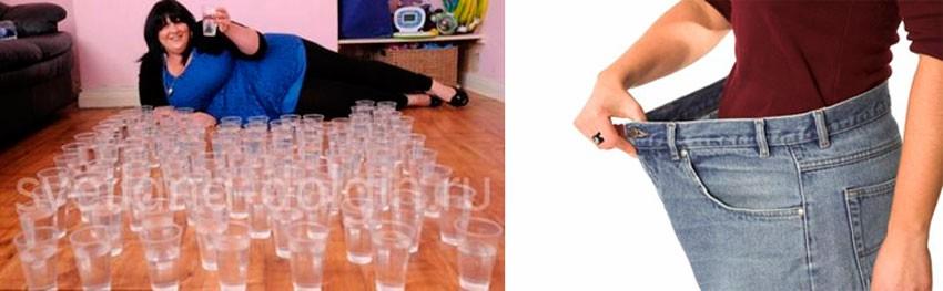 Как пить воду чтобы похудеть
