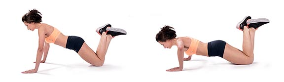 Упор на колени