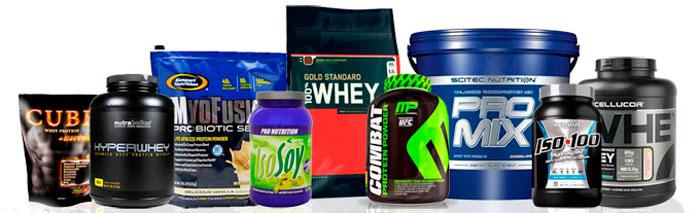 Виды протеиновых добавок