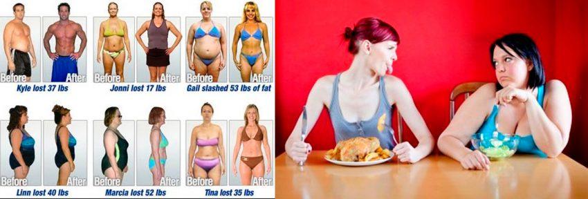 Как похудеть после строгих диет