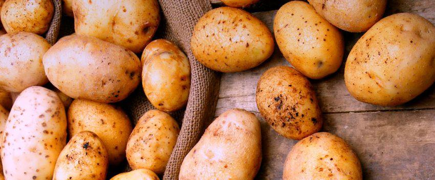 Батат и картошка