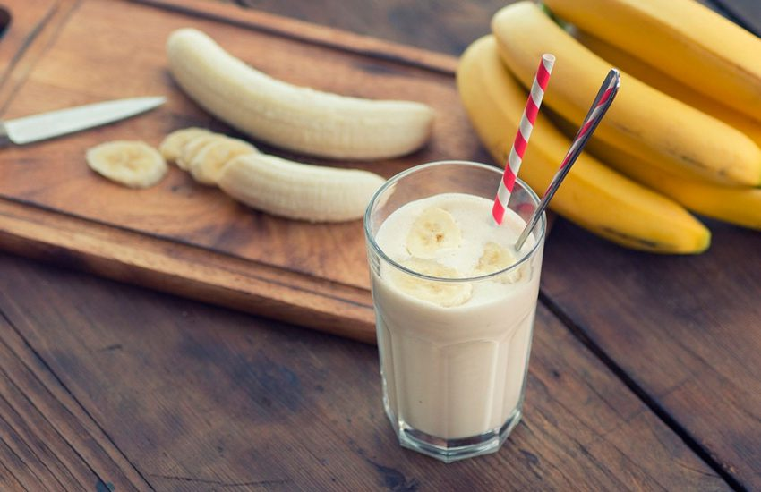 Белковый банановый коктейль