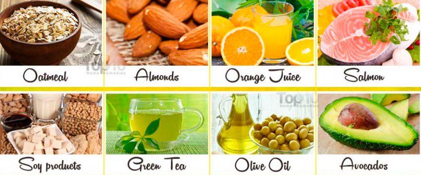 продукты понижают холестерин
