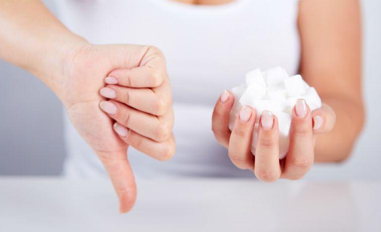 Минимизировать употребление сахара