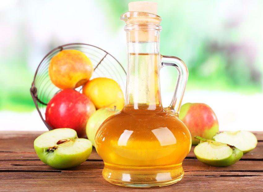 Готовить пищу с яблочным уксусом