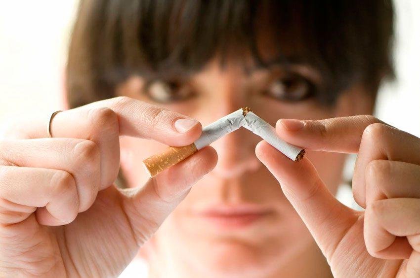 Оказаться от курения
