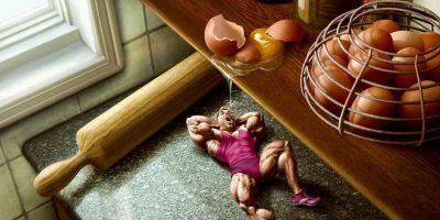 Яйца в бодибилдинге