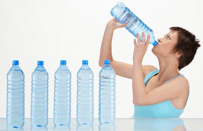 Пить побольше воды
