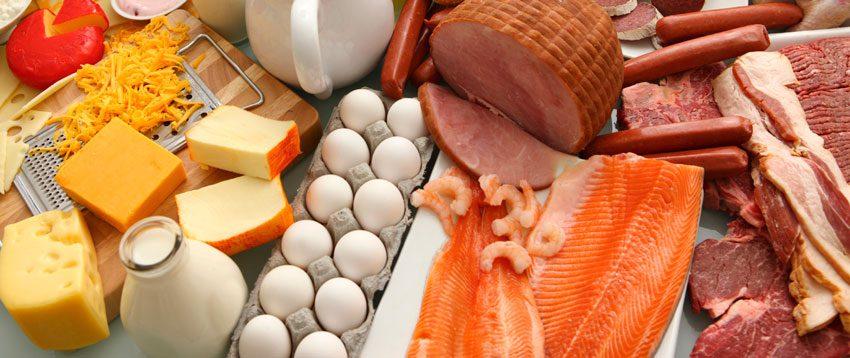 Список богатых белком продуктов