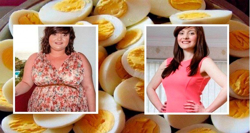 Употребление яиц при диете