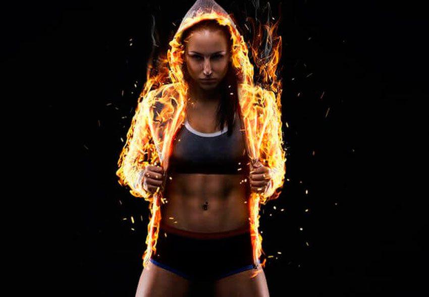 упражнения для сжигания жира для мужчин мята