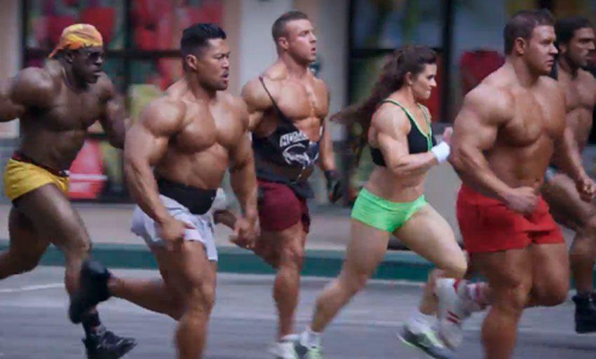 Бег и набор мышечной массы