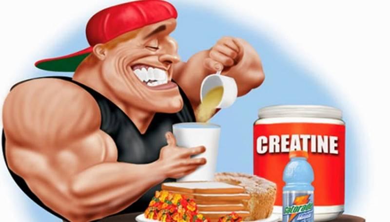 Как принимать креатин в курсе стероидов