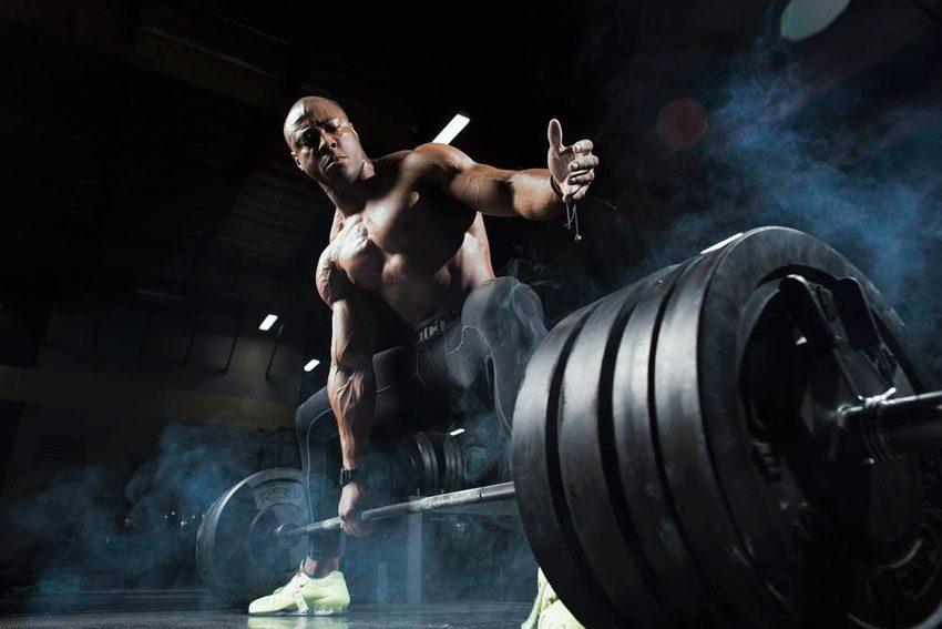 Тренинг с большими весами