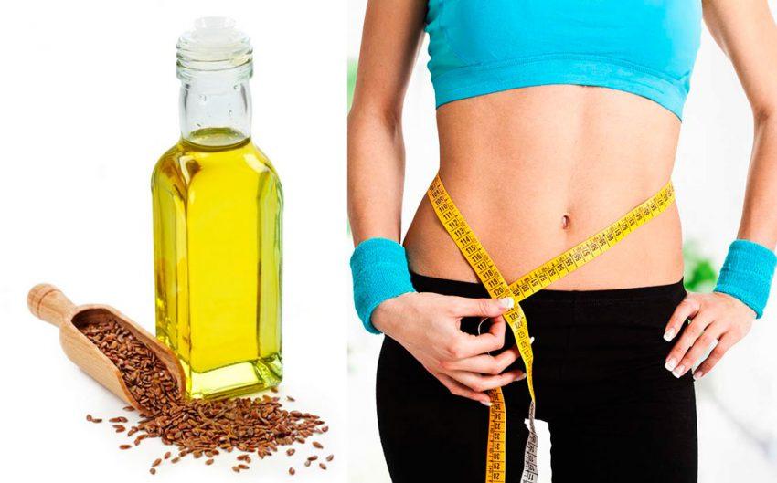 Как применять льняное масло для похудения