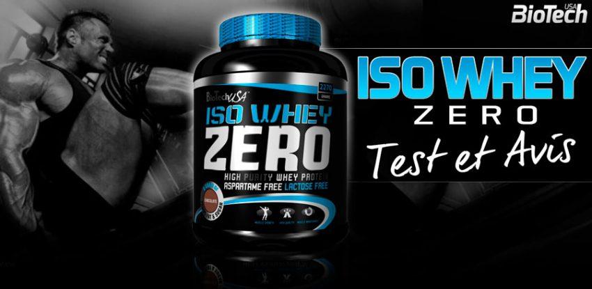Как принимать Iso Whey Zero