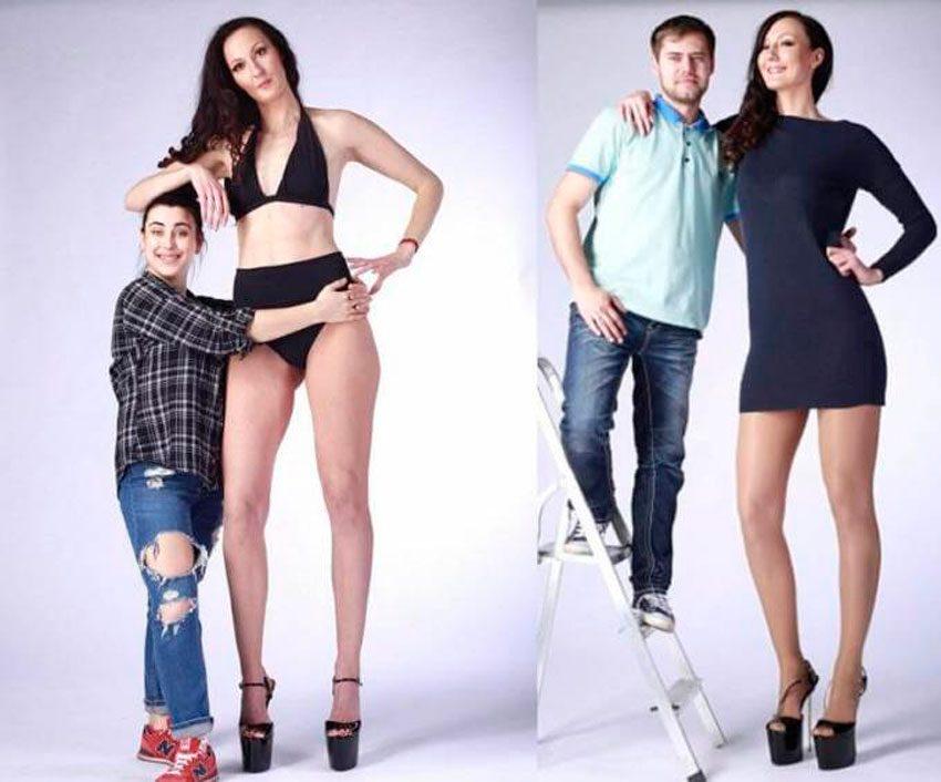 Соотношение роста и длины ног