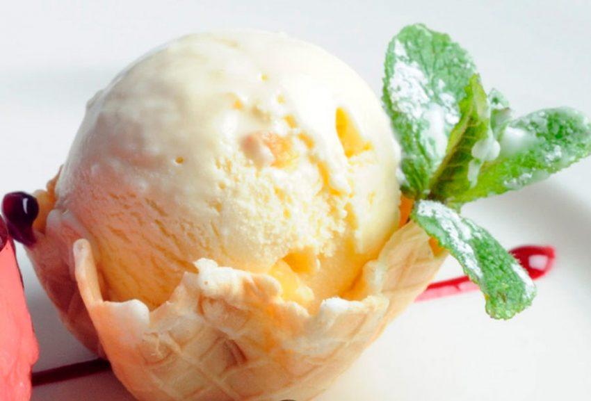 Диетическое имбирное мороженое