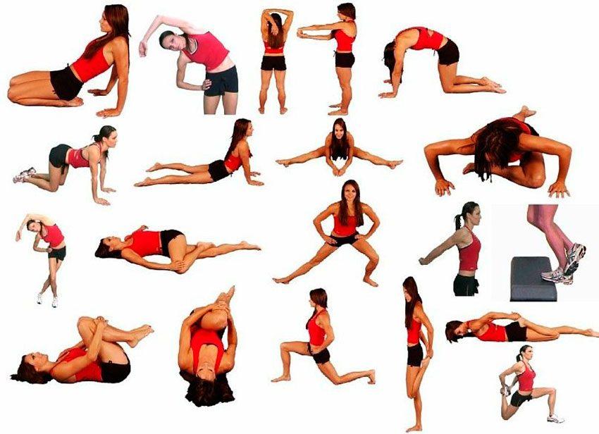 Комплекс упражнения для растяжки в домашних условиях