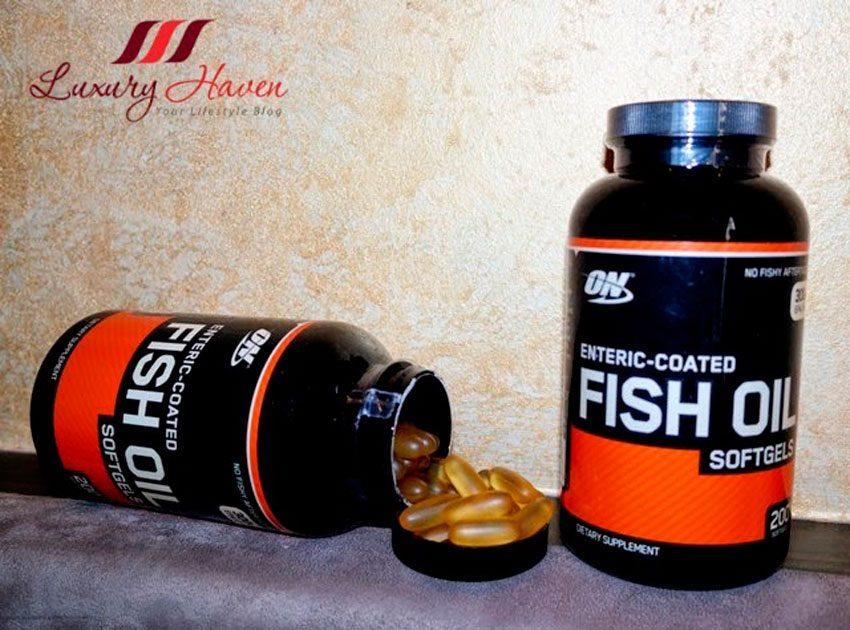 Как принимать Fish Oil от Optimum Nutrition