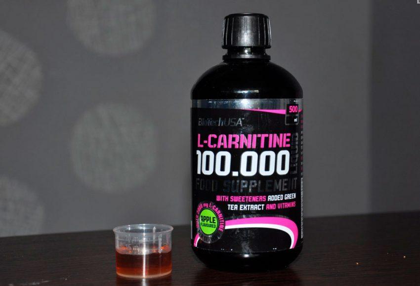 Как принимать L-carnitine Liquid