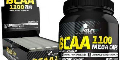 BCAA Mega Caps 1100 от Olimp