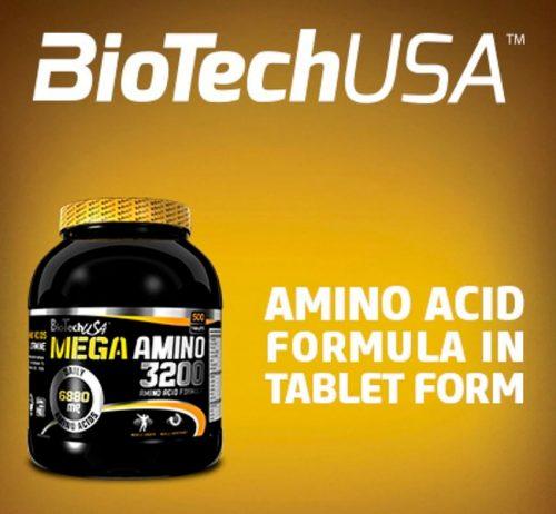 Mega Amino 3200 от Biotech USA