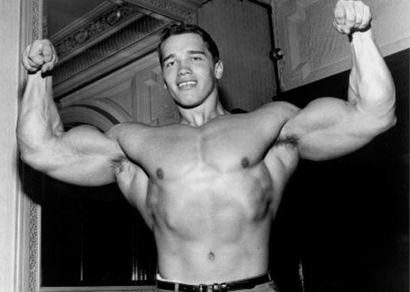 Arnold Schwarzenegger bodybuilding young