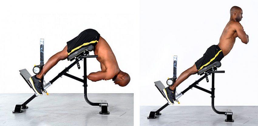 Гиперэкстензия для укрепления мышц низа спины