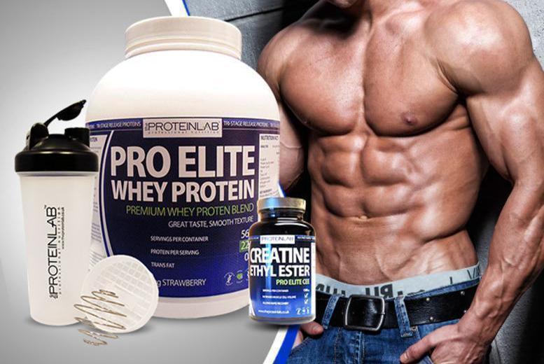 Креатин и протеин