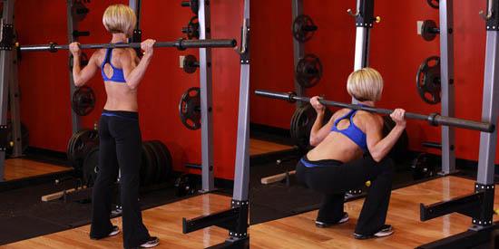Программа тренировок для девушки