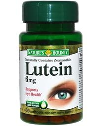 Лютеин и зеаксантин
