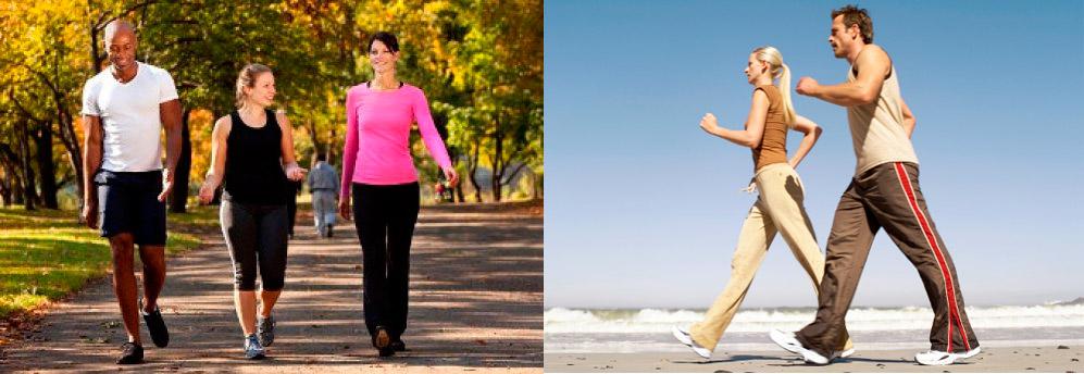 как ходить пешком чтобы похудеть
