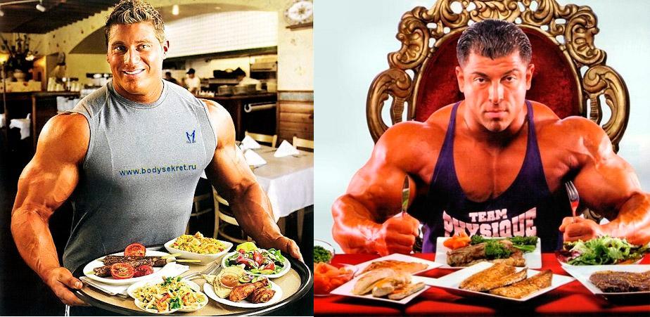 правильное питание для набора массы для мужчин