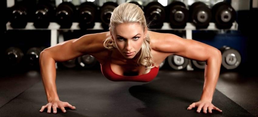 Упражнения для груди девушкам
