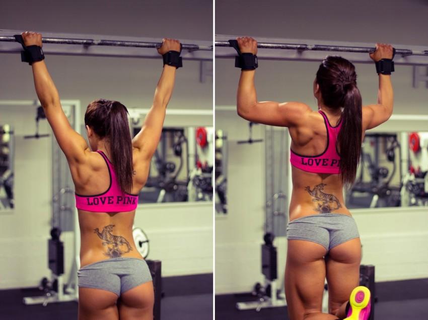 убрать жир со спины упражнения с картинками